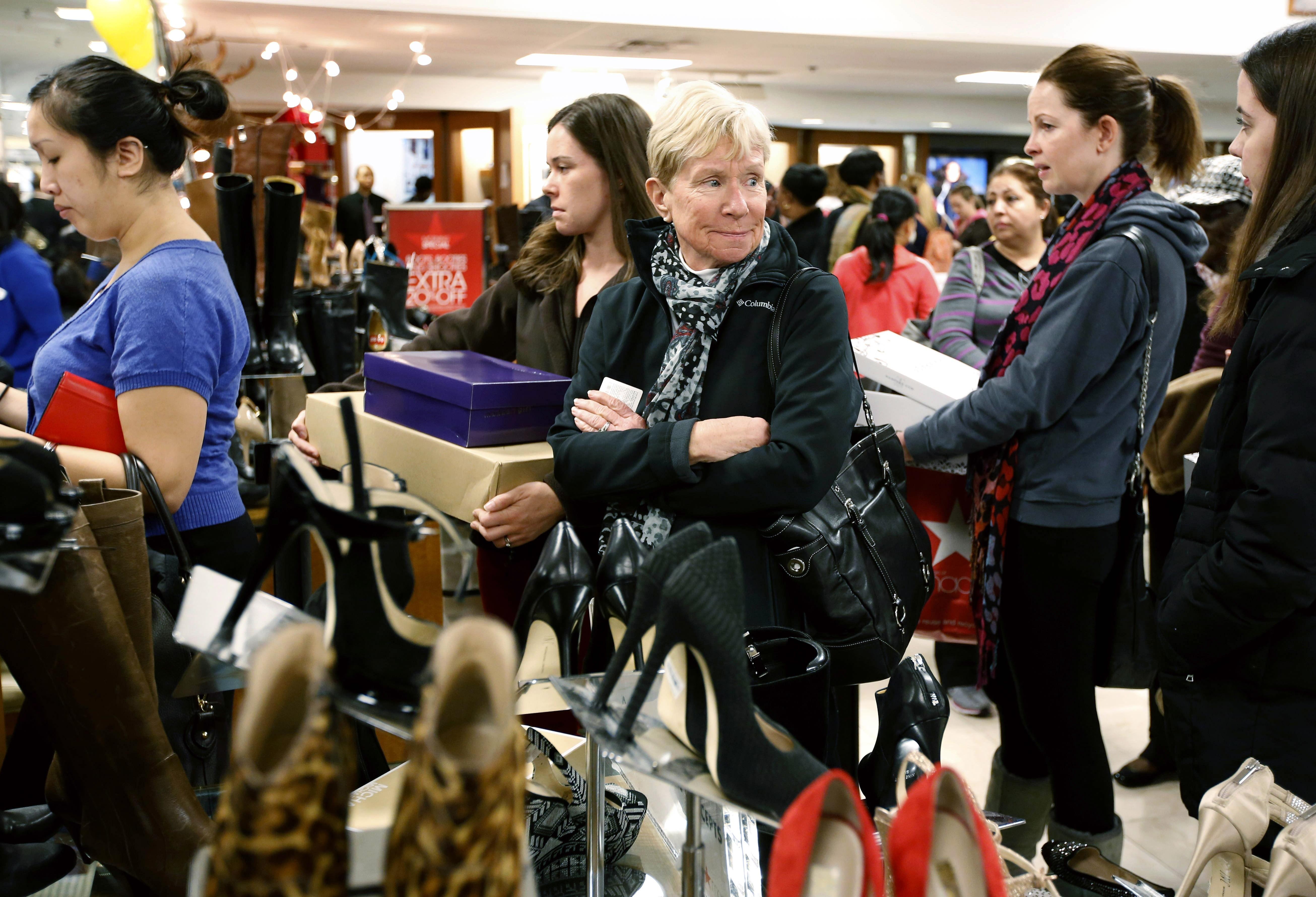 Uma fila longa pode realmente ser a linha mais rápida. (Foto: AP Photo/Michael Dwyer)