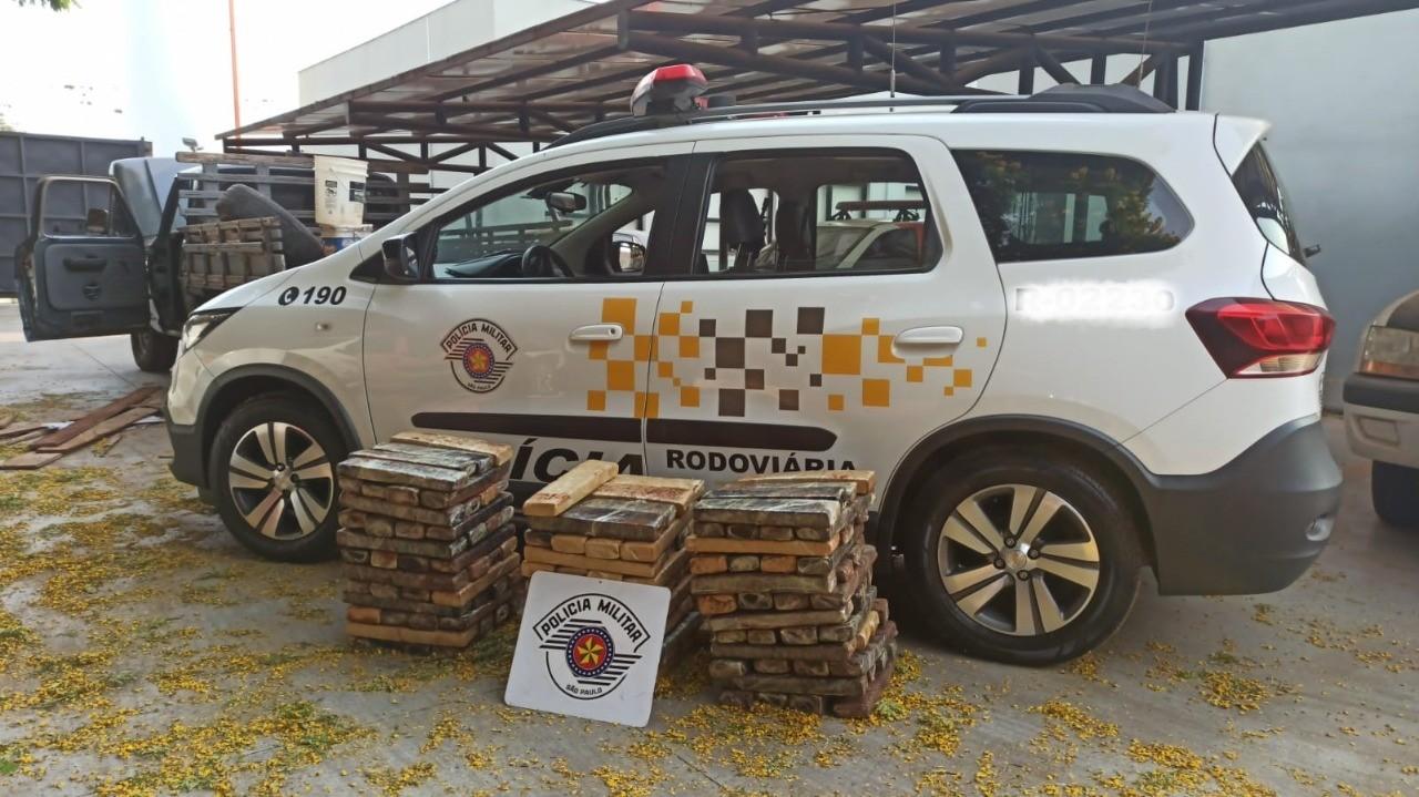 Polícia Militar apreende mais de 140 quilos de maconha em Paraguaçu Paulista