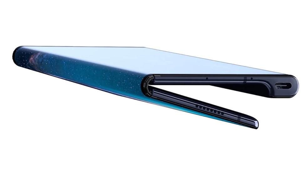 Mate X é o primeiro celular dobrável da Huawei — Foto: Divulgação/Huawei
