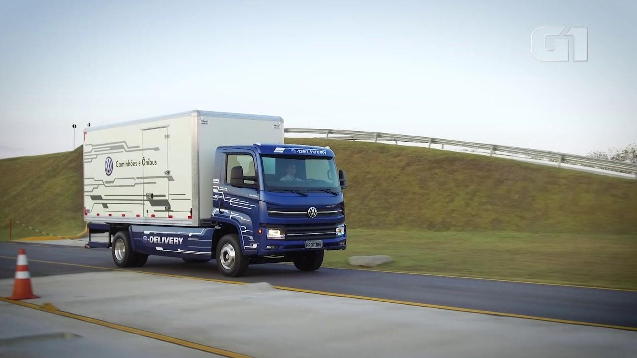 Veja como anda o primeiro caminhão elétrico criado no Brasil