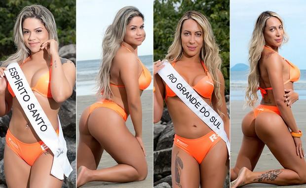 Miss-Bumbum-12-Pamela-Micheliny-e-Natlhalia-Rios (Foto: Nelson Miranda / MBB6)