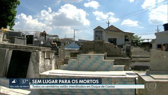 Todos os cemitérios de Duque de Caxias estão interditados