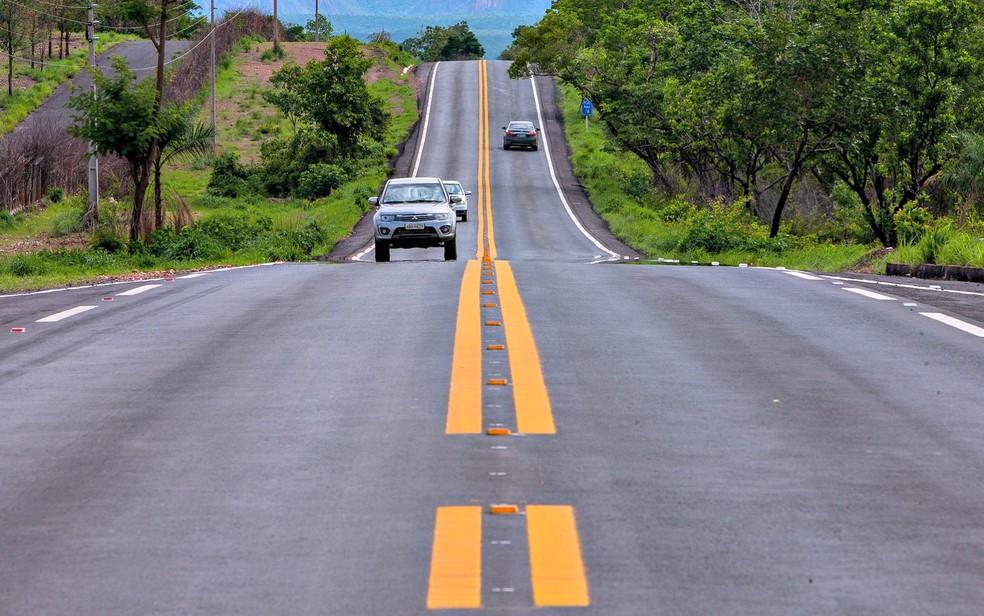 Produtores cobram aplicação dos recursos do Fethab em estradas. — Foto: Gcom-MT
