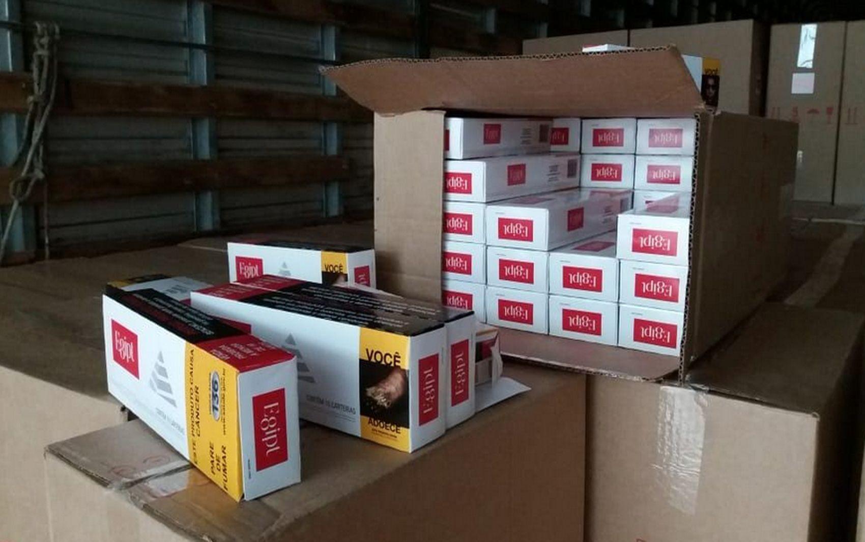 Contrabando de cigarros rende R$ 113 milhões em Sergipe no ano de 2019, diz instituto - Notícias - Plantão Diário