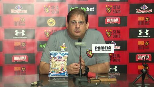 """Guto Ferreira não descarta contratações: """"Sport não está parado"""""""