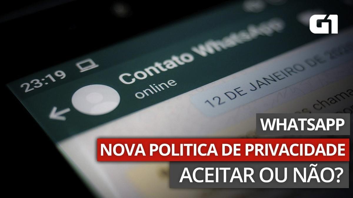 WhatsApp vai limitar envio e leitura de mensagens para quem não aceitar nova política de privacidade
