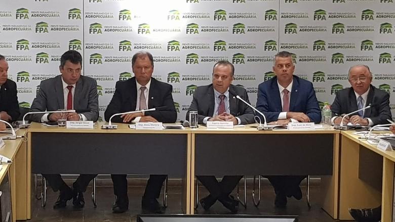 politica-reuniao-previdencia-fpa (Foto: Divulgação/FPA)