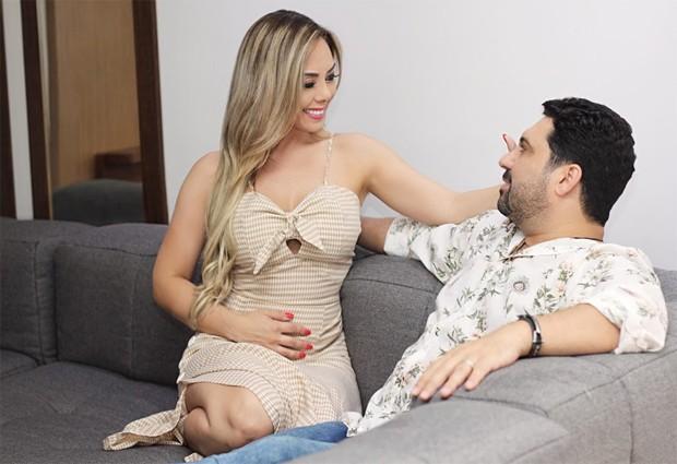 Edson e Deia Cypri (Foto: Leonardo Vieira/Divulgação)