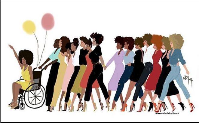 """""""Quando mulheres andam juntas... quando mulheres trabalham juntas... Mulheres são fenomenais juntas! - Nicholle Kobi (Foto: Nicholle Kobi/Reprodução Instagram)"""