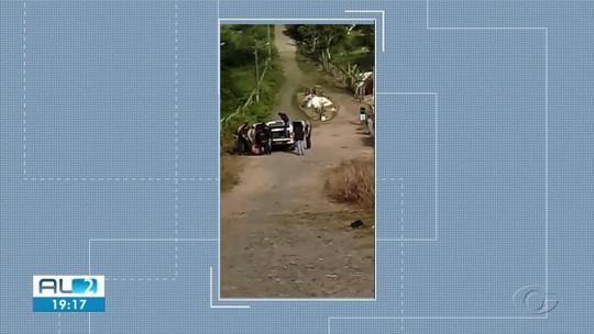 Moradores de Girau do Ponciano, AL, relatam clima de medo durante troca de tiros entre criminosos e policiais