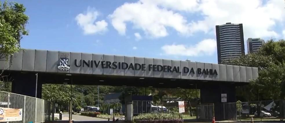 Vítima relatou falta de segurança na área da Ufba de Ondina (Foto: Reprodução/ TV Bahia)