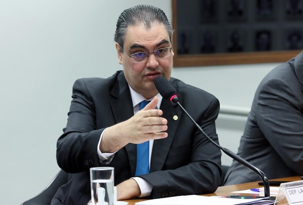O deputado Lafayette de Andrada, relator do projeto anticrime na Câmara — Foto: Claudio Andrade/Câmara dos Deputados