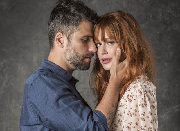 Bruno Gagliasso e Marina Ruy Barbosa serão Gabriel e Luz em nova novela das 9 (Foto: Divulgação/TV Globo)