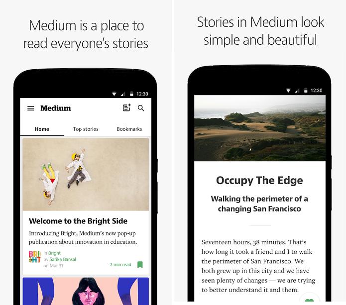 Medium é uma plataforma de publicação de textos (Foto:Divulgação)