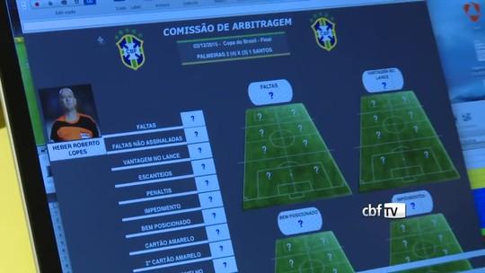 Olho no apito: CBF usará software em análise de desempenho dos árbitros