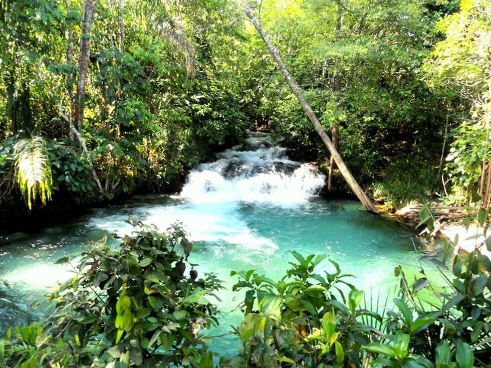 Cachoeira da Formiga (Foto: Divulgação/Andrea Marques)