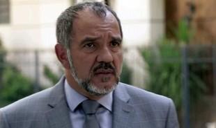 Na segunda-feira (3), Germano (Humberto Martins) chega à delegacia e revela a Eliza (Marina Ruy Barbosa) que é seu pai | TV Globo