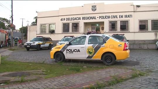 Presos da Cadeia Pública de Irati se rebelam e arrebentam celas
