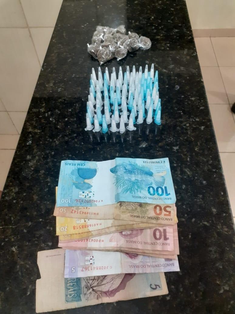 Adolescente de 14 anos é detido suspeito de tráfico de maconha e cocaína em São Carlos