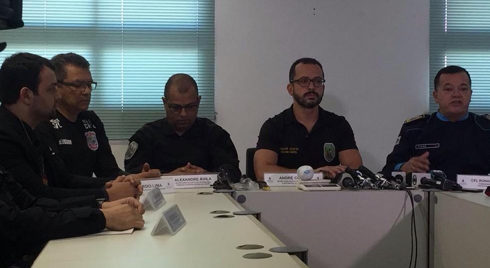 O Departamento de Homicídios e Proteção à Pessoa (DHPP) coordena o caso.  (Foto: Alana Araújo/TV Verdes Mares)