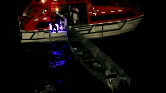 Pescadores perdidos no mar há 20 dias são resgatados por cruzeiro na Costa Rica
