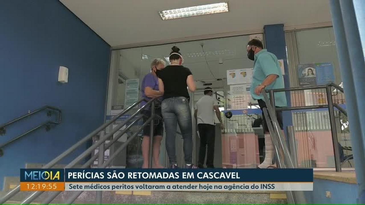 INSS de Cascavel retoma perícias