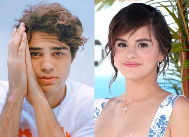 Noah Centineo e Selena Gomez (Foto: Reprodução Instagram e Getty Images)