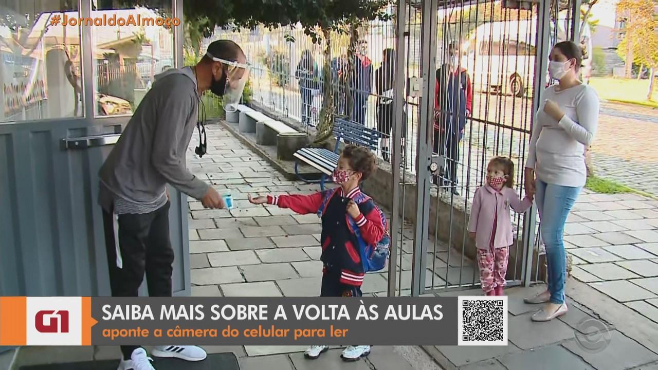 Rede de ensino municipal de Farroupilha retoma aulas presenciais