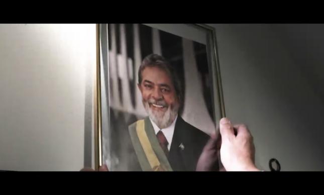Cena do vídeo de lançamento da candidatura Lula 2018
