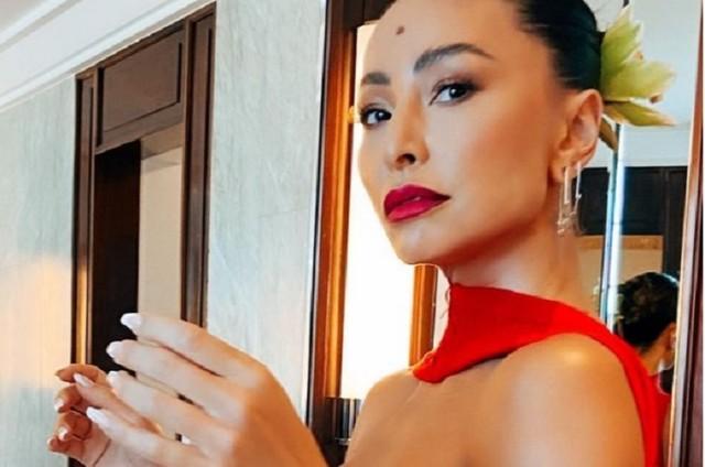 Sabrina Sato no Copacabana Palace neste mês (Foto: Reprodução/Instagram)