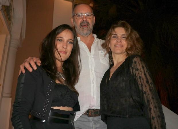 Adriana Birolli, Floriano Peixoto e Helena Fernandes (Foto: Rogerio Fidalgo/AgNews)