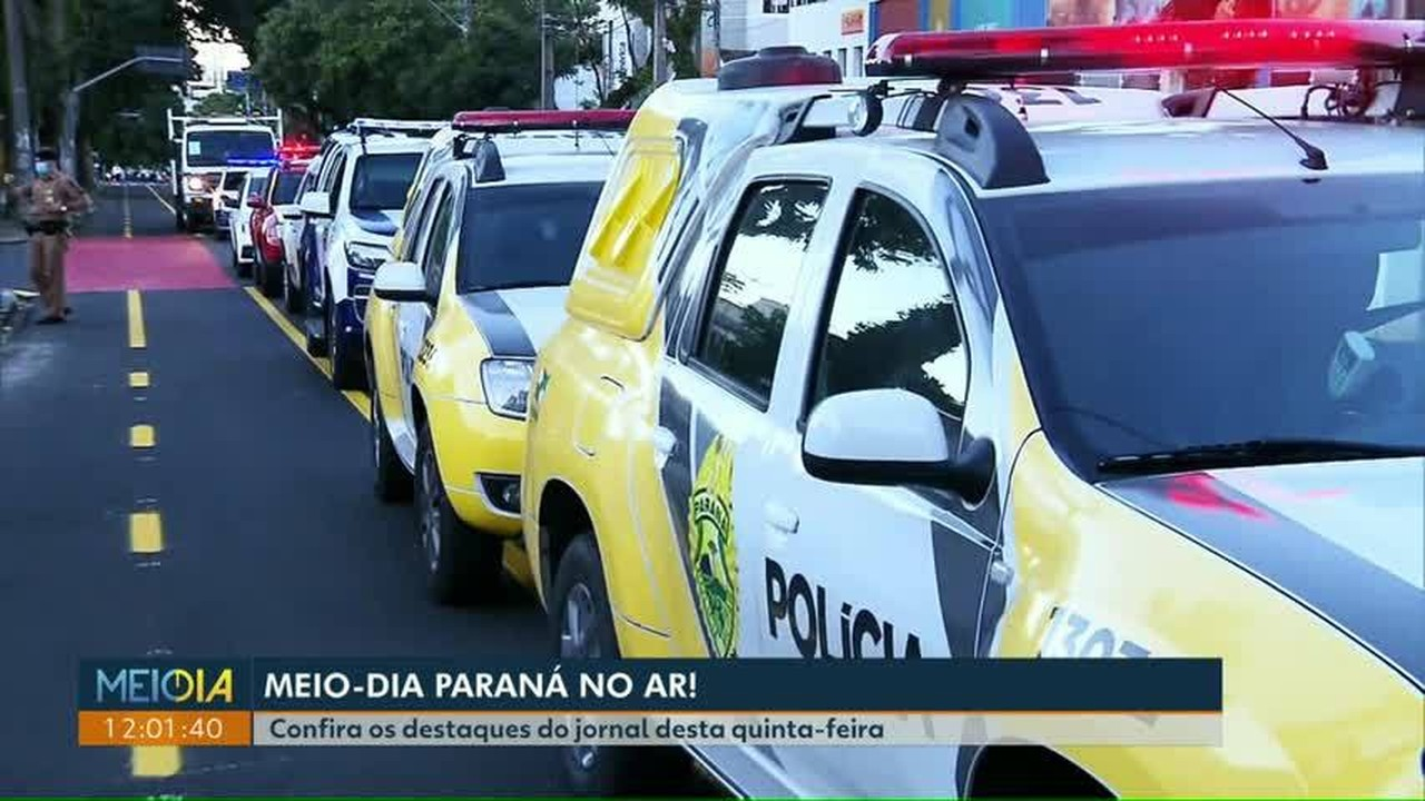 Confira os destaques para o Meio Dia Paraná desta quinta-feira