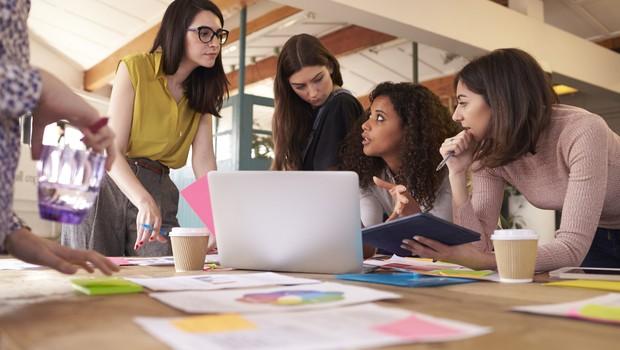 mulheres, reunião (Foto: Thinkstock)