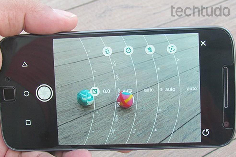 Use os controles manuais para tirar a foto perfeita — Foto: Paulo Alves/TechTudo