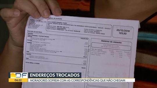 Moradores de Samambaia sofrem com as correspondências que não chegam