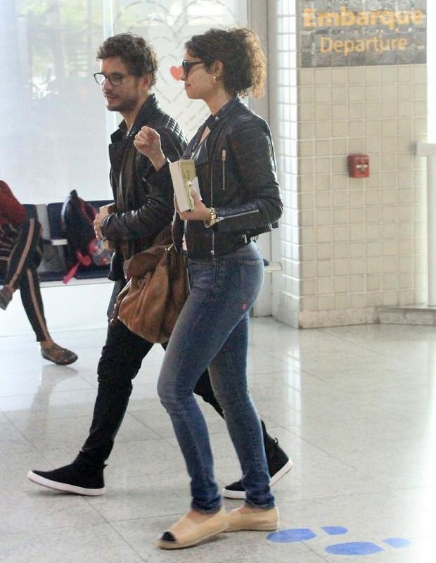 Sophie Charlotte e Daniel de Oliveir (Foto: WEBERT BELICIO / AGNEWS)