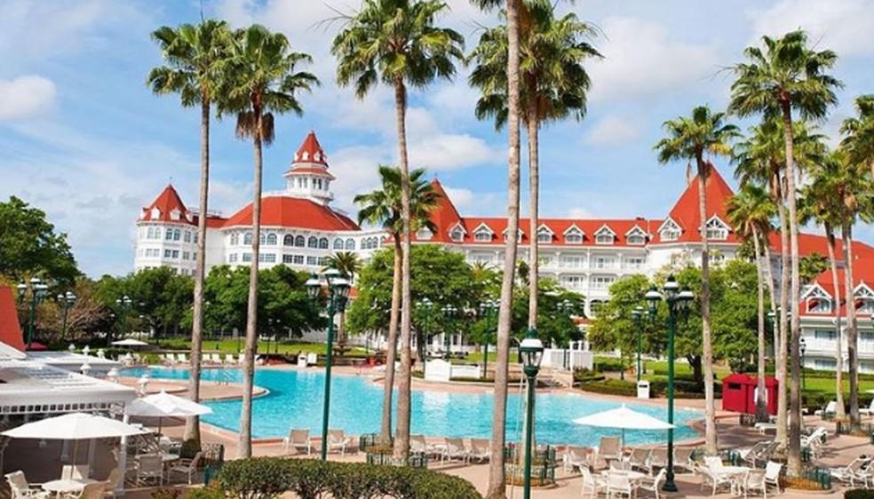 Hotel Grand Floridian Resort & Spa  — Foto: Reprodução redes sociais