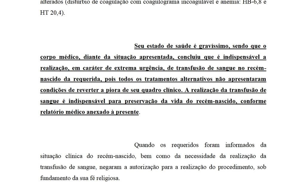 Advogados da Santa Casa de Rio Preto disseram no pedido à Justiça que estado de saúde é gravíssimo (Foto: Reprodução)