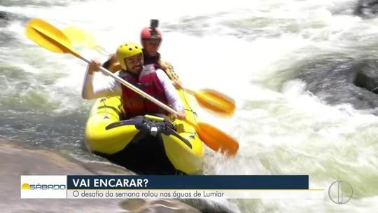 """""""Vai Encarar?"""" retorna ao Encontro dos Rios em Lumiar para um desafio de canoagem"""