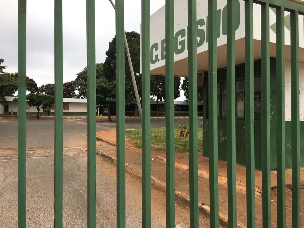 Centro Educacional Gisno, na Asa Norte, Brasília — Foto: Luiza Garonce/G1
