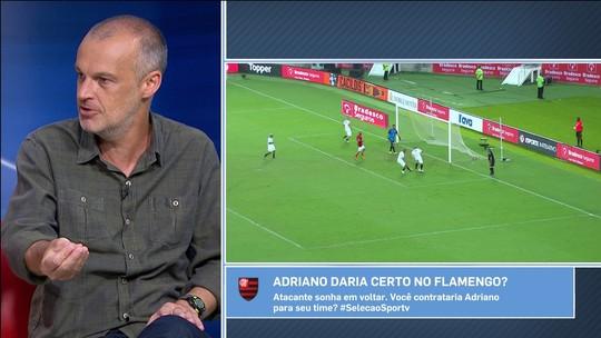 """Sérgio Xavier: Renato aposta que """"espírito"""" do Grêmio pode """"contaminar"""" Adriano"""