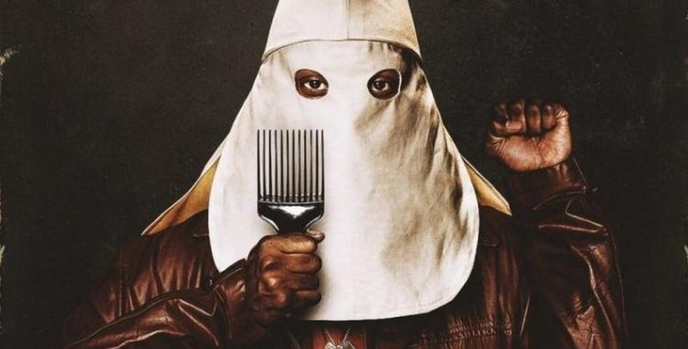 Cena do filme 'Infiltrado na Klan', de Spike Lee — Foto: Divulgação
