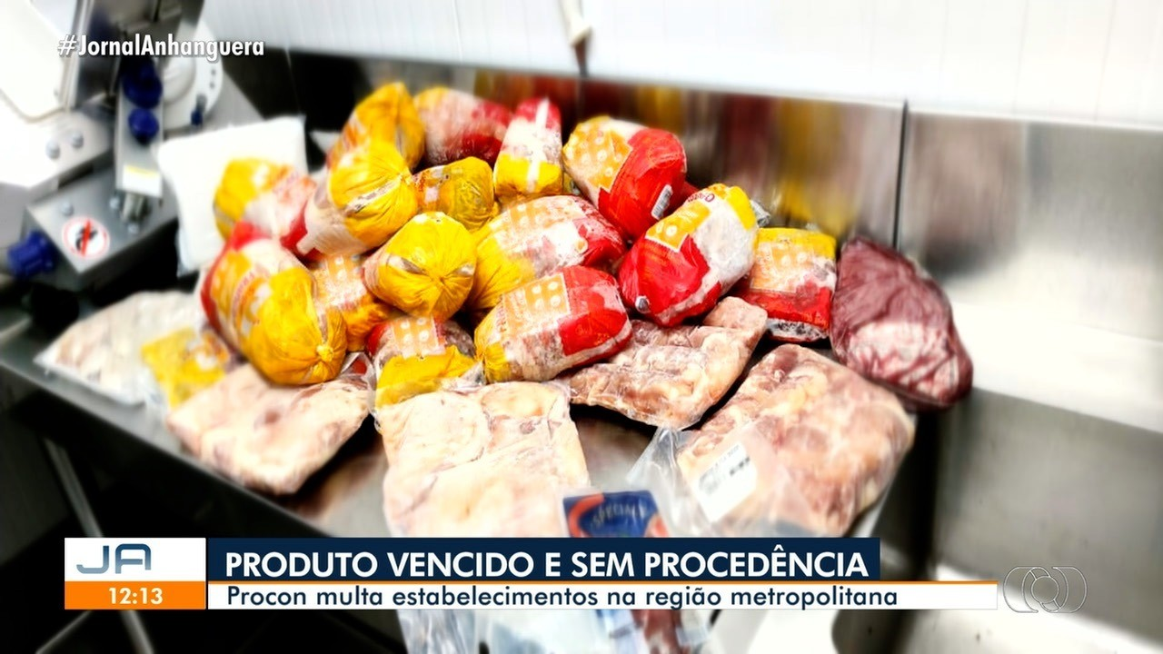 Procon multa estabelecimentos por vender produtos vencidos na Grande Goiânia