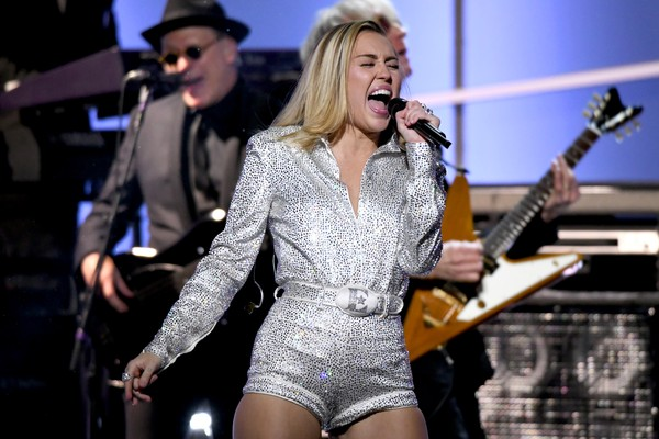 A cantora Miley Cyrus (Foto: Getty Images)
