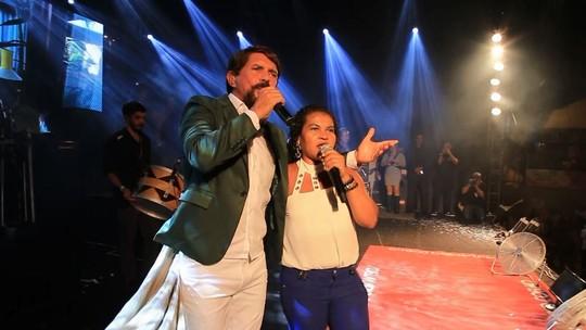 Adelmário Coelho e Calcinha Preta animaram a galera no Forrozão 2018