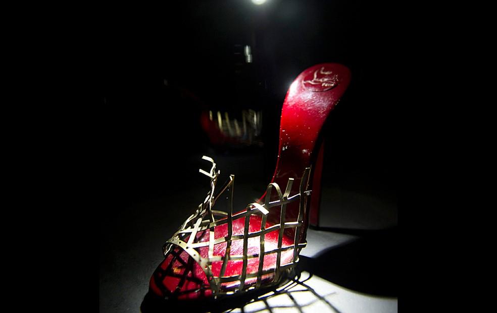 -  Sapato Louboutin  Foto: AP