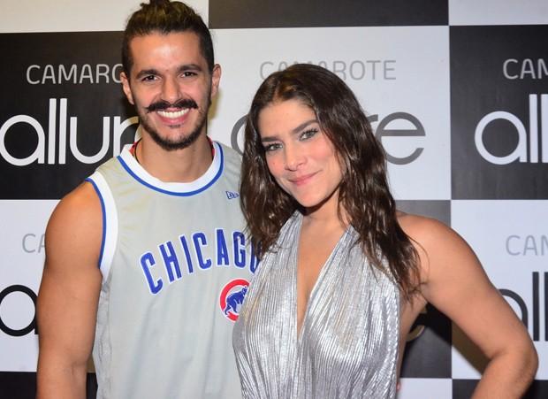 Priscila Fantin e o namorado, Bruno Lopes (Foto: Robson Barreto / AgNews)