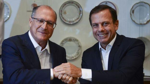 Geraldo Alckmin enfrentou disputa interna no PSDB para se viabilizar candidato (Foto: ROVENA ROSA/AGÊNCIA BRASIL  via BBC)
