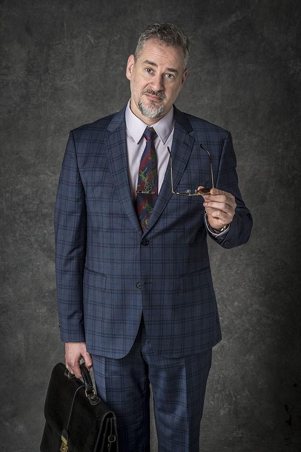 Dan Stulbach como Eurico em O Sétimo Guardião (Foto: João Cotta/Globo)
