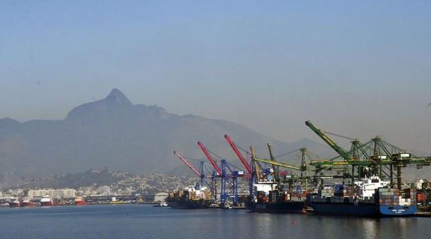 Exportações, exportação, importações, importação, porto, navios (Foto: Agência Brasil)
